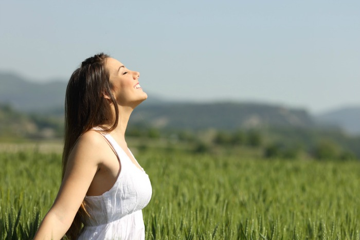 Take breaks and go out in the sun to get fresh air