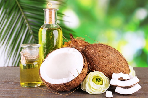 Image result for almond and coconut oil