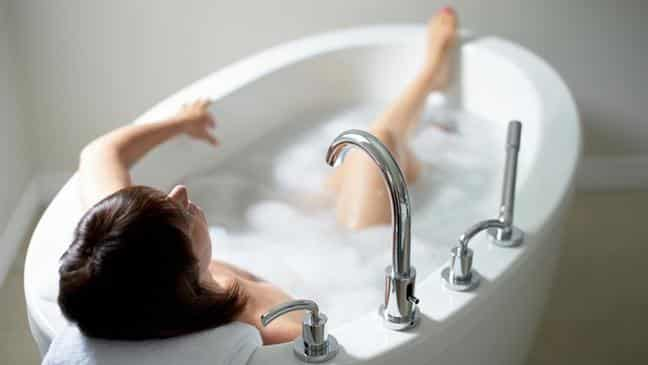 Hot and cold bath
