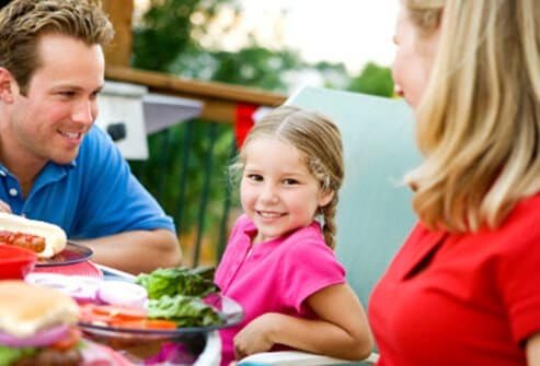 Praise children when they choose healthy foods