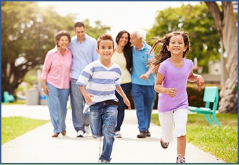 Enjoy physical activity as a family