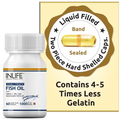 fish oil omega 3 double strength 1000mg