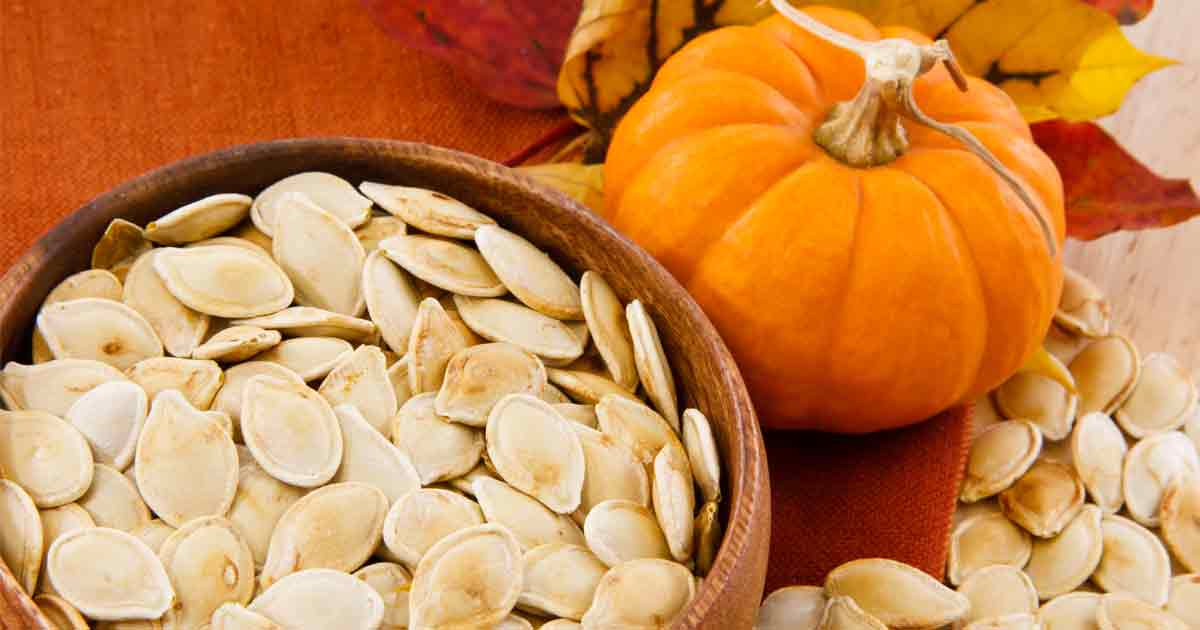 Load up on pumpkin seeds