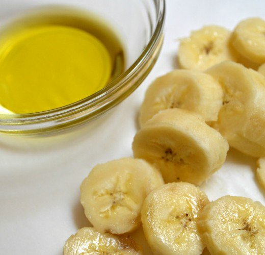 Banana can be magical along with olive oil