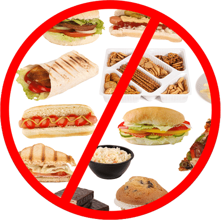 Avoid problem foods