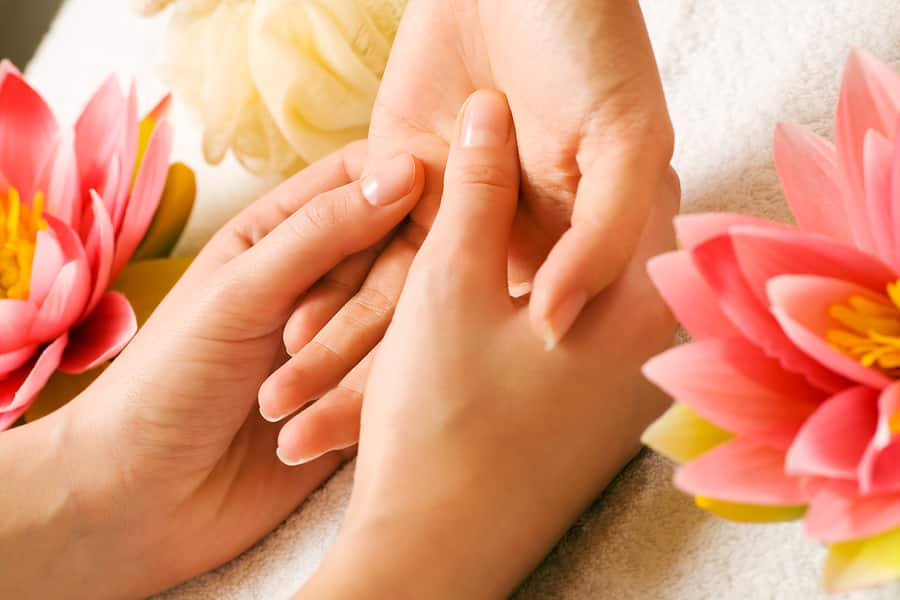 Hand Care With Massage