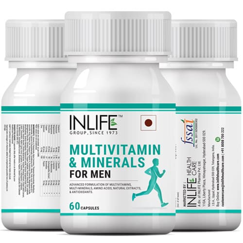 Best Multivitamin And Mineral Supplement For Men In India - Inlife ... e9d5b16eaad9
