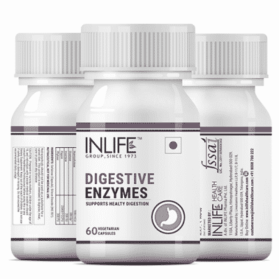 INLIFE Digestive Enzyme Supplements