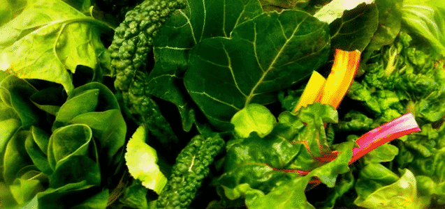 2. Green Leafy Vegetables