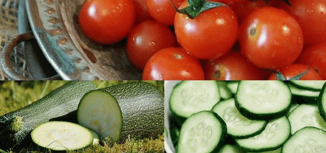 Hydrating Vegetables