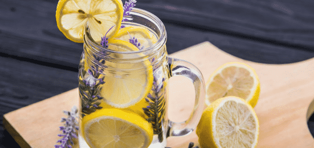 Lemon Lavender Wonder Infused Water
