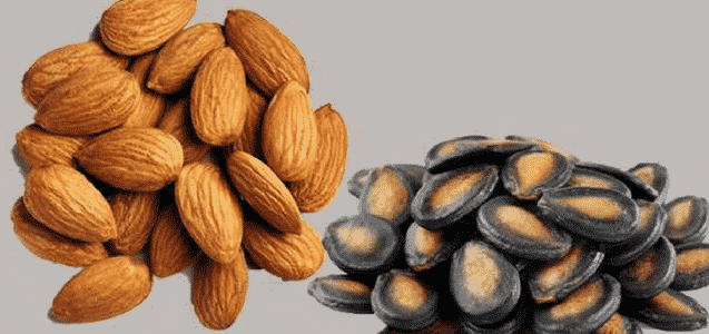 3. Almond And Watermelon Seeds