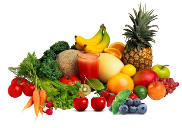 9. Brightly Coloured Fruits And Vegetables - InlifeHealthCare