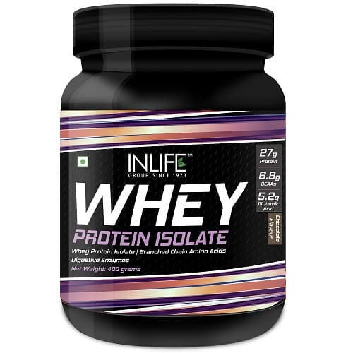 Whey protein isolate 400 gm