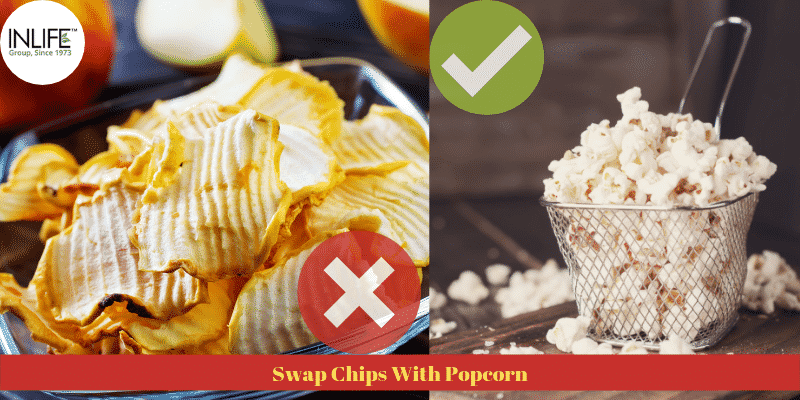 Swap Chips With Popcorn
