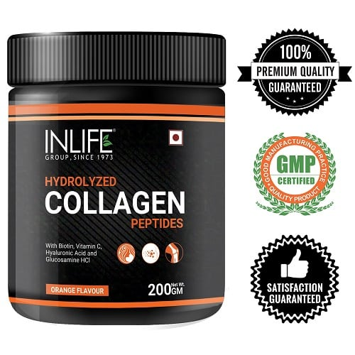 Collagen powder supplement logos