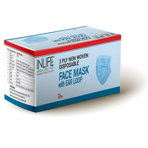 3ply Non Woven Disposable Face Mask