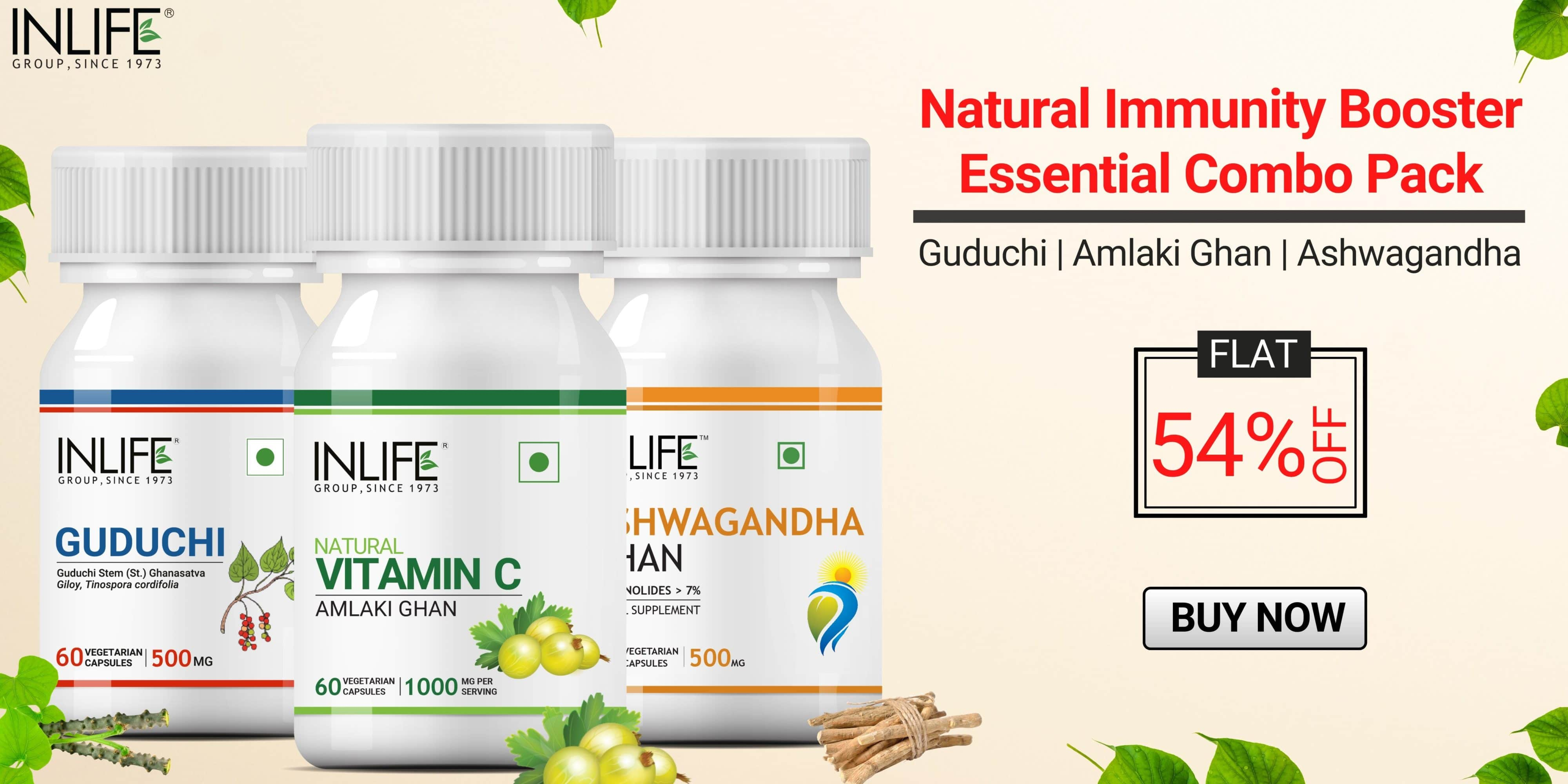 Natural immunity booster essential combo