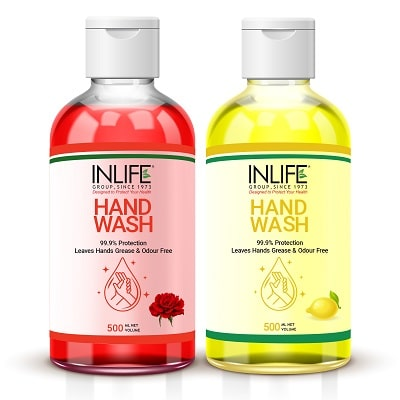 Liquid Hand Wash Rose Lemon