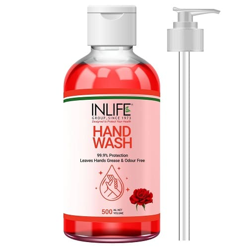 Liquid hand wash 500ml with pmp