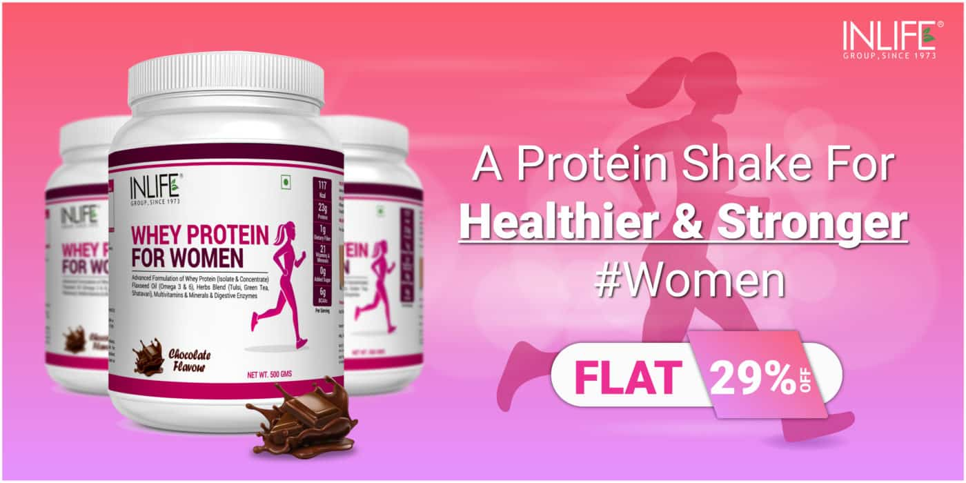 whey protein supplement for women