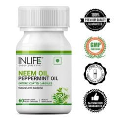 Buy Neem Oil with Peppermint oil capsules